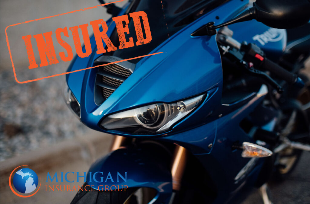 motorcycle insurance, insured motorcycle,